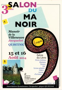 Salon du Manoir Affiche
