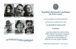 7e Rencontre poétique TP16