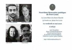 9e Rencontre poétique