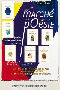 AFFICHE Marché Poésie 2017